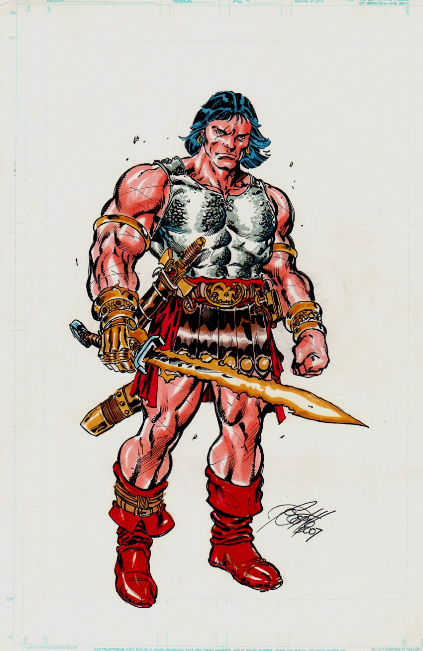 Conan Full Color Pinup (2007)