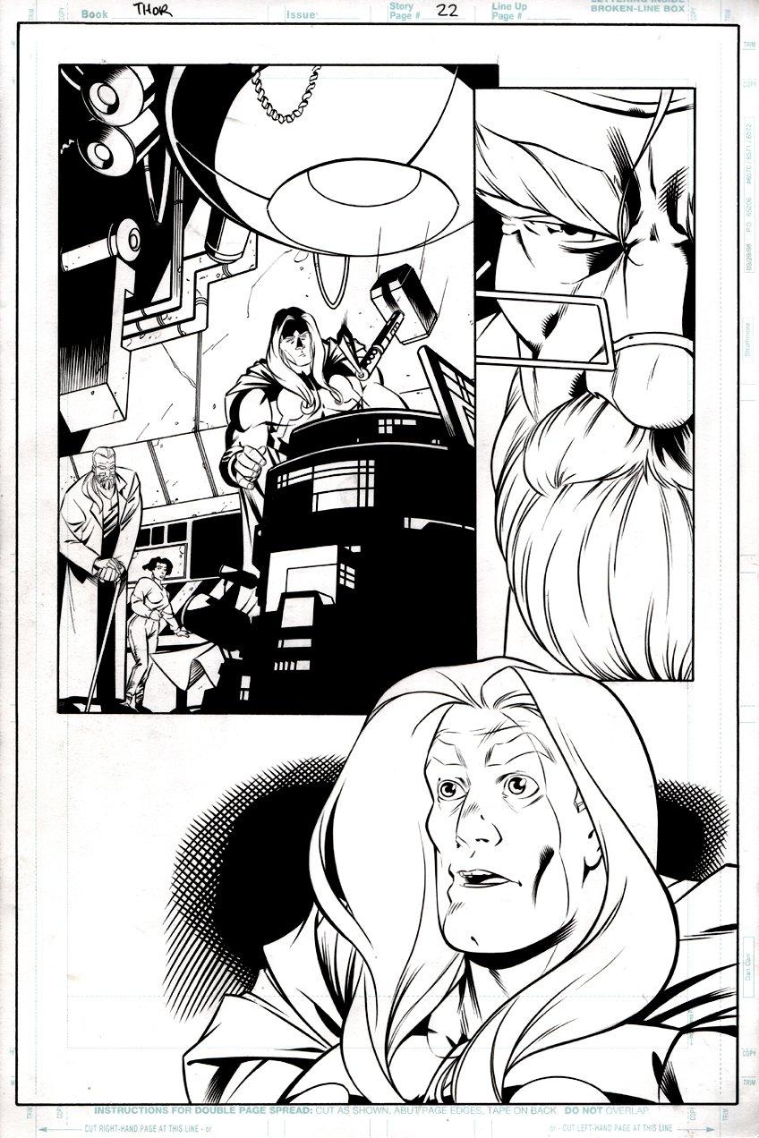Thor #1 p 22 (Thor Throughout!) 2000