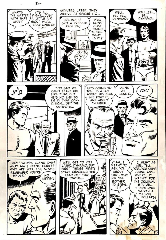 Dynamo #2 Page 8 (DYNAMO IN 6 PANELS, WALLY WOOD INKS!) 1966
