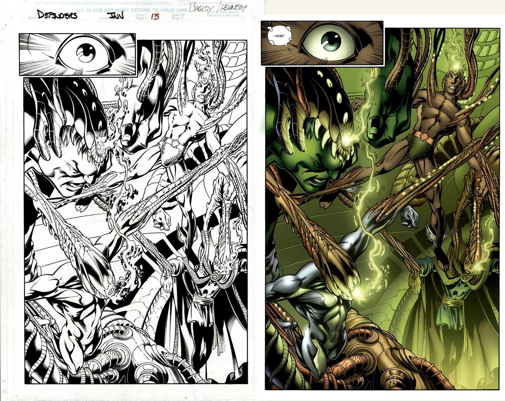 Defenders: From the Marvel Vault #1 SPLASH (!) 2011