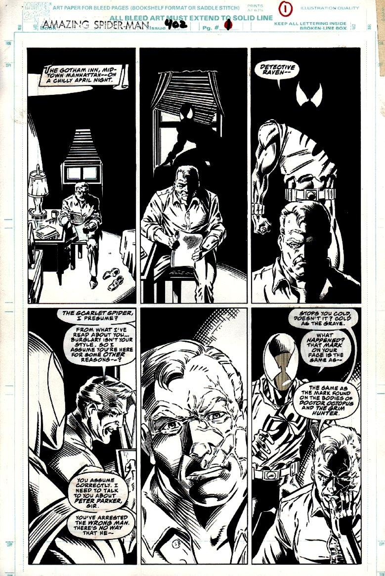 Amazing Spider-Man #402 p 1 (1995)