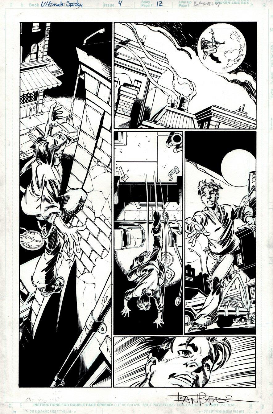 Ultimate Spider-Man #4 p 12 (SPIDER-MAN ORIGIN STORY!) 2000