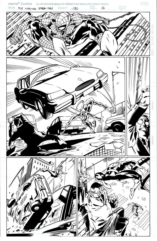 Amazing Spider-Man #430 p 16 (Spider-Man Battles CARNAGE!) 1997