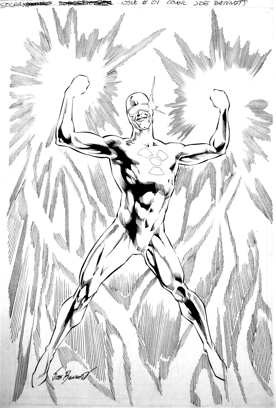 Solar: Man of the Atom #2 Cover (Large Art) 2014