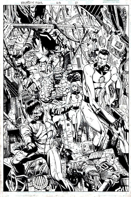 Fantastic Four #43 (472) p 1 SPLASH (2001)