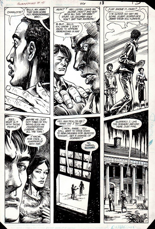 Swamp Thing #41 p 11 (1983)