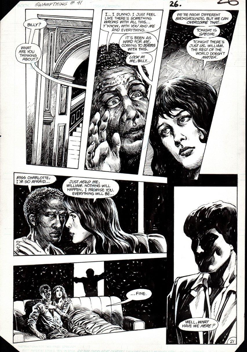 Swamp Thing #41 p 21 (1983)