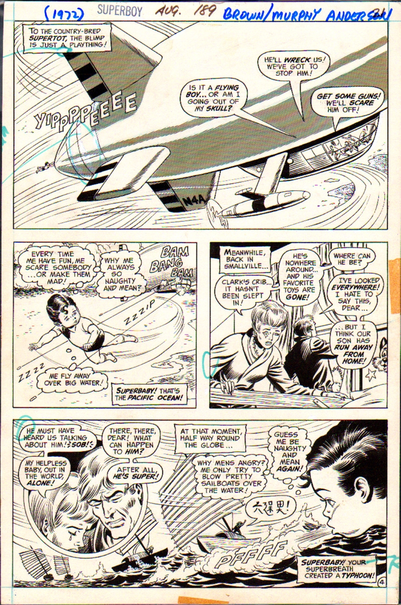 Superboy #189 p 4 (1972)