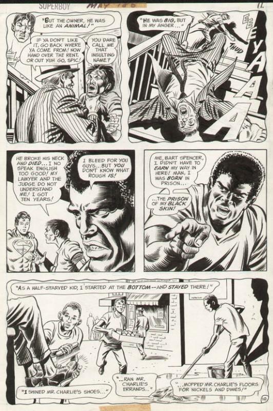 Superboy #186 p 10 (1972)