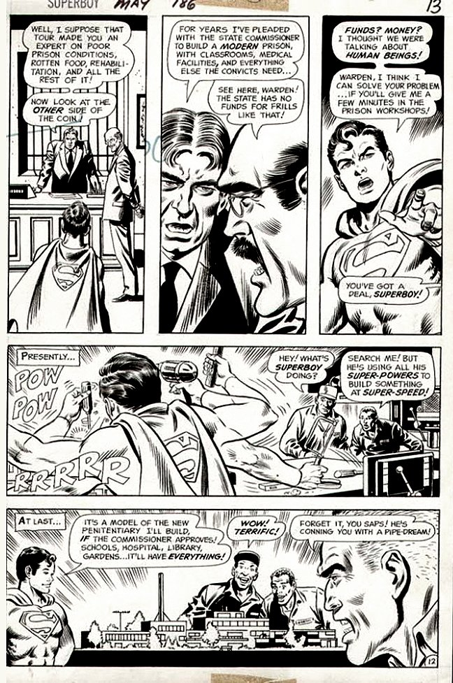 Superboy #186 p 12 (SUPERBOY THROUGHOUT!) 1972
