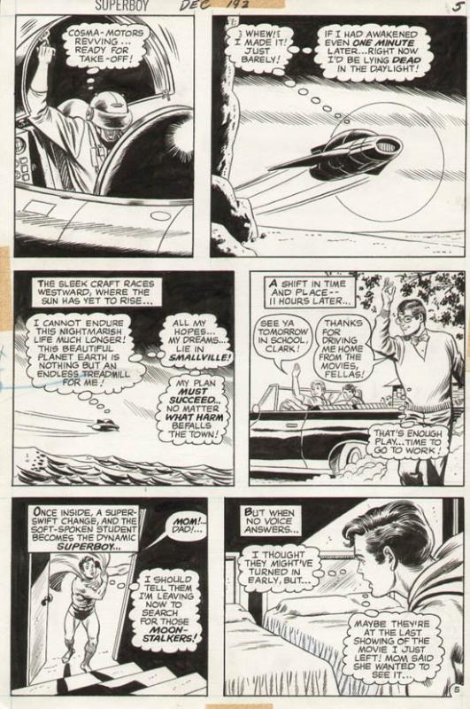 Superboy #192 p 5 (1972)