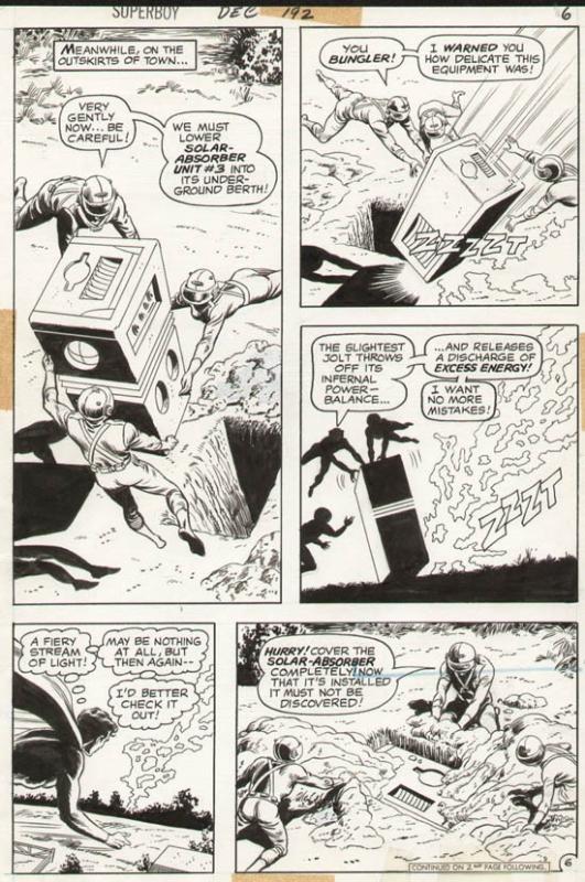 Superboy #192 p 6 (1972)