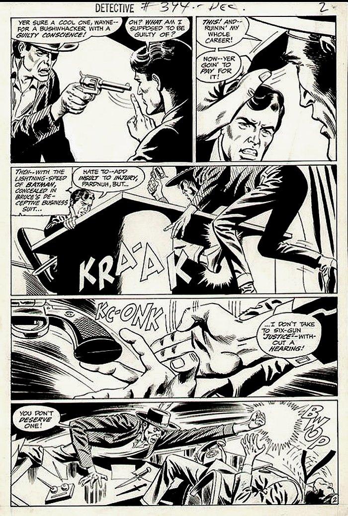 Detective Comics #394 p 2 (1969)