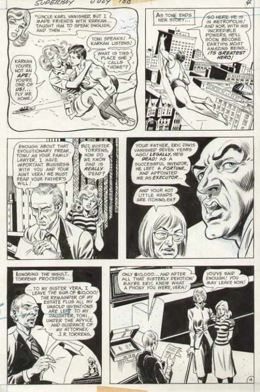 Superboy #188 p 4 (1972)