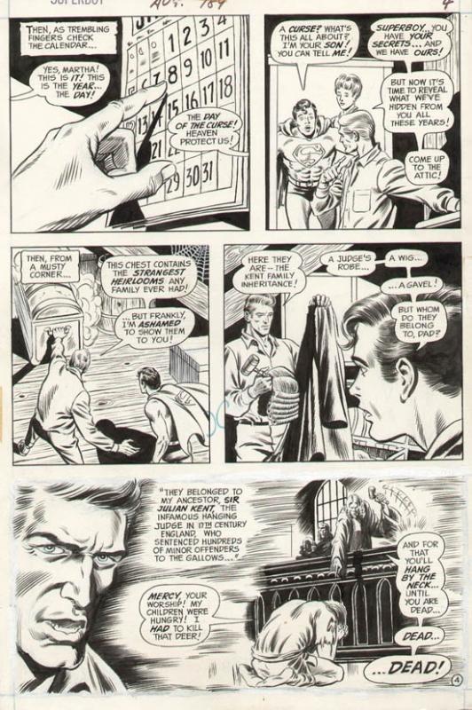 Superboy#189 p 4 (1972)
