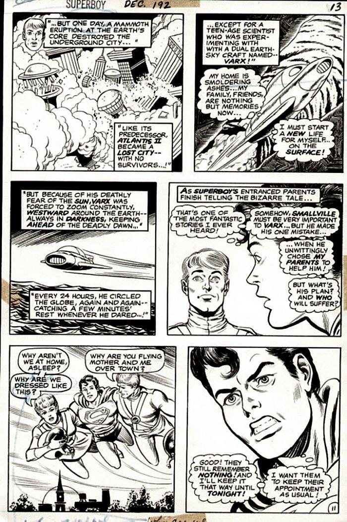 Superboy #192 p 11 (Superboy & 2 Aliens!) 1972)