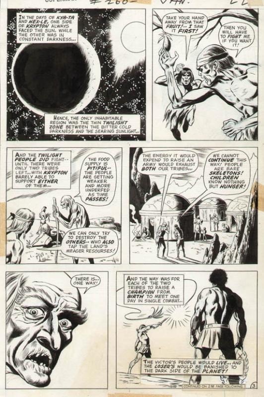 Superman #260 p 3 (1972)