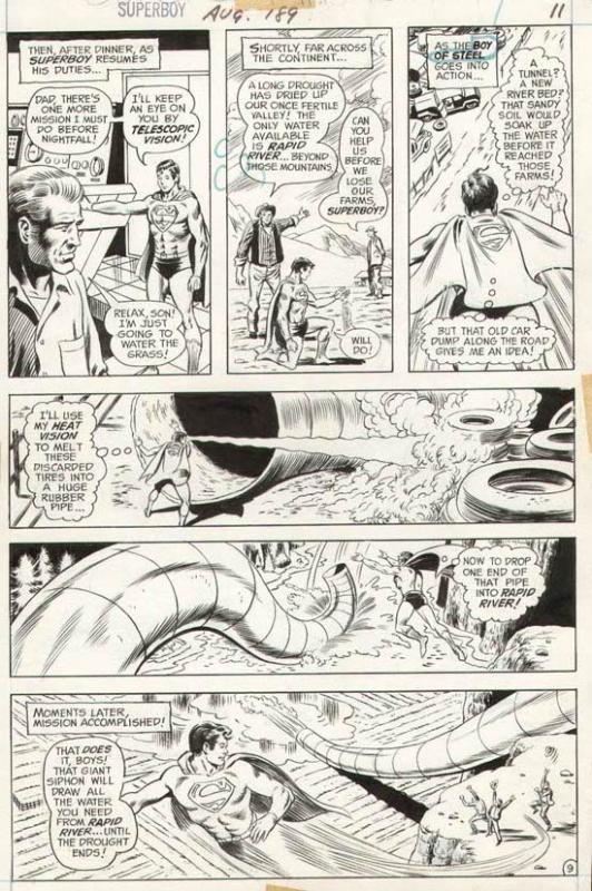 Superboy #189 p 9 (1972)