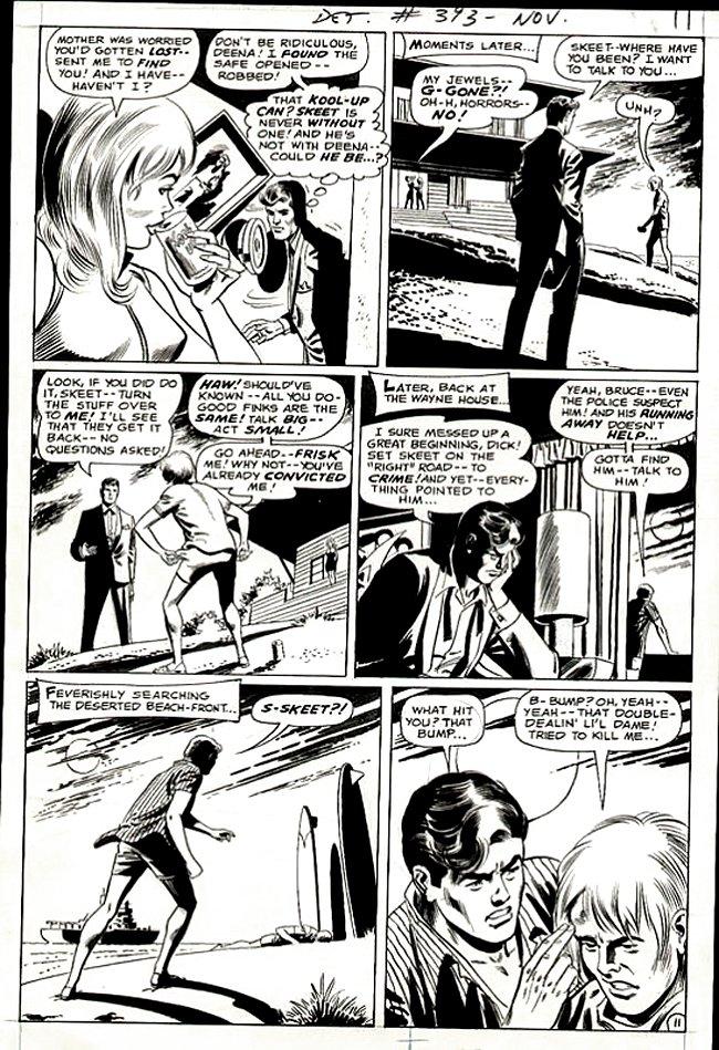 Detective Comics #393 p 11 (Bruce Wayne Solves a Crim