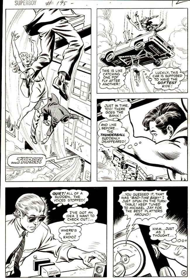 Superboy #195 p 10 (SUPERBOY Throughout!) 1973