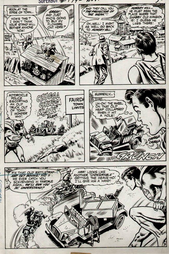 Superboy #179 p 3 (1971)