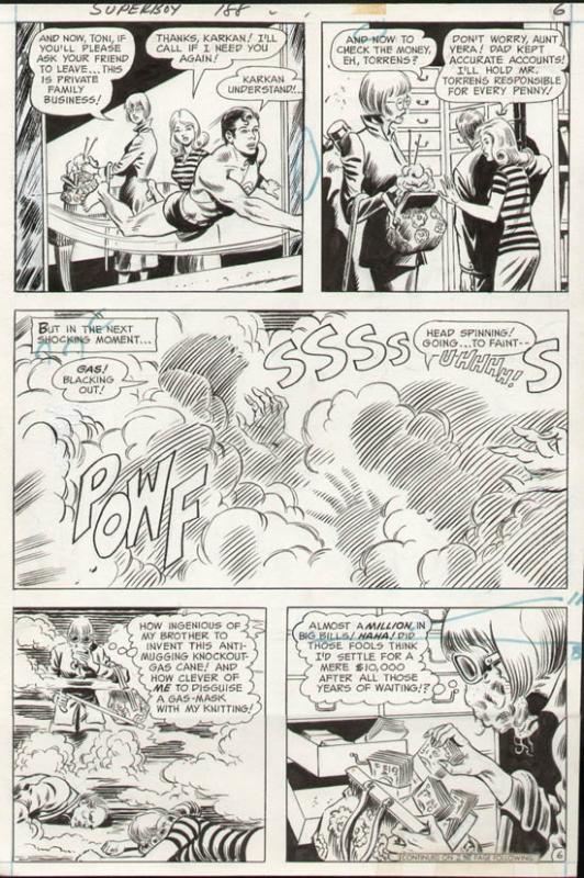 Superboy #188 p 6 (1972)