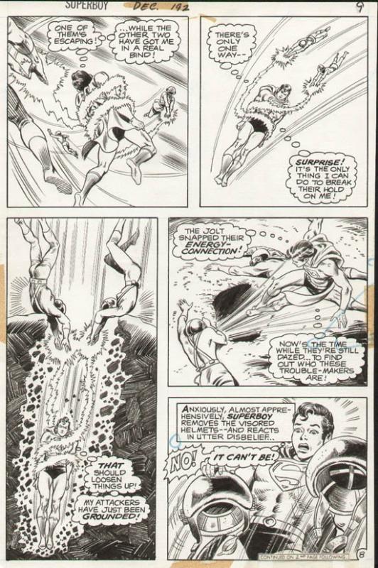 Superboy #192 p 8 (1972)