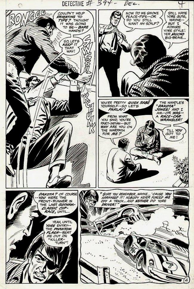 Detective Comics #394 p 4 (1969)