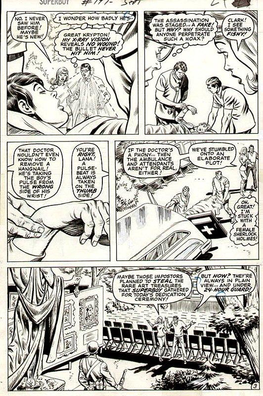 Superboy #197 p 3 (1973)