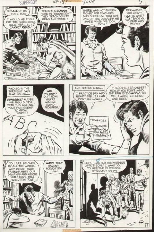 Superboy #187 p 5 (1972)