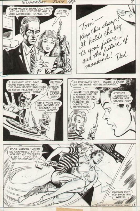 Superboy #188 p 8 (1972)