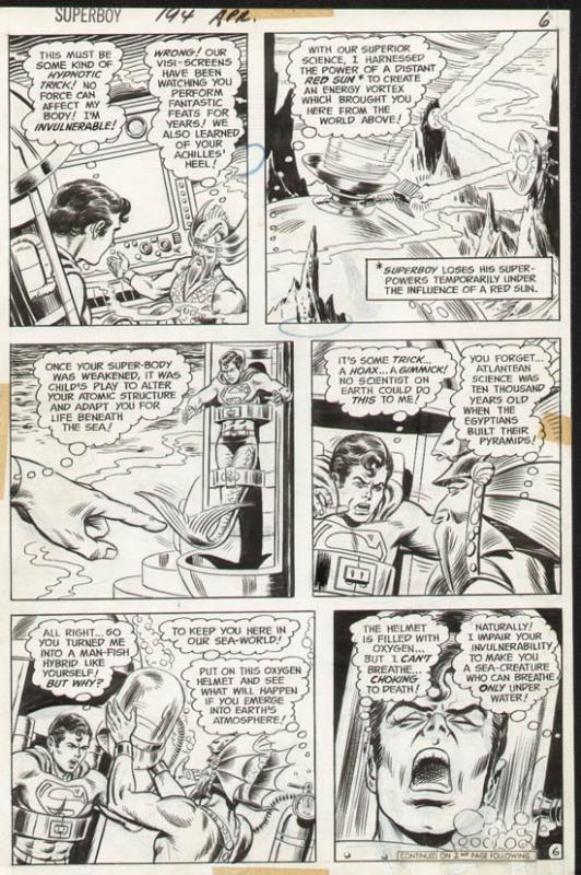 Superboy #194 p 6 (1972)