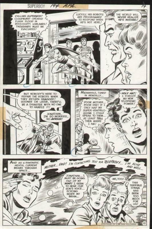 Superboy #194 p 12 (1972)
