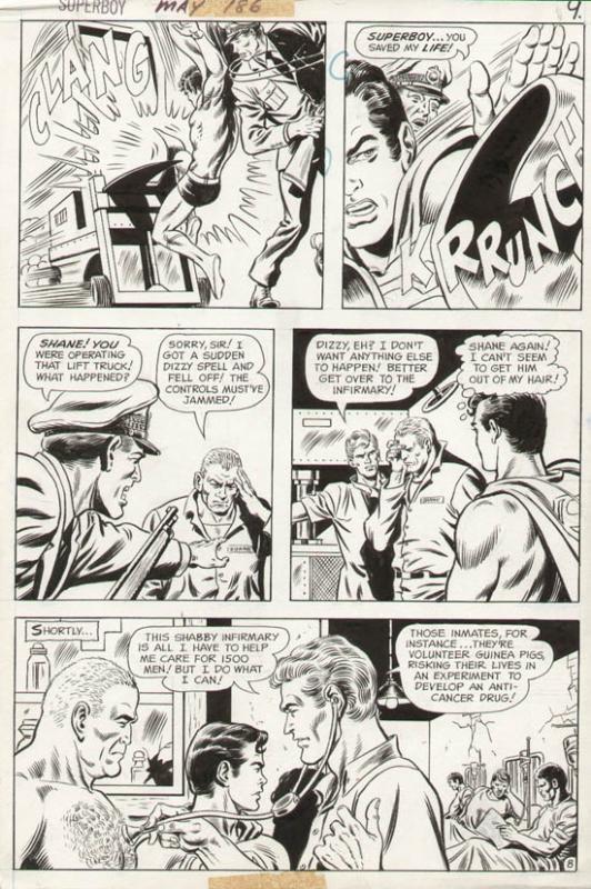 Superboy #186 p 8 (1972)