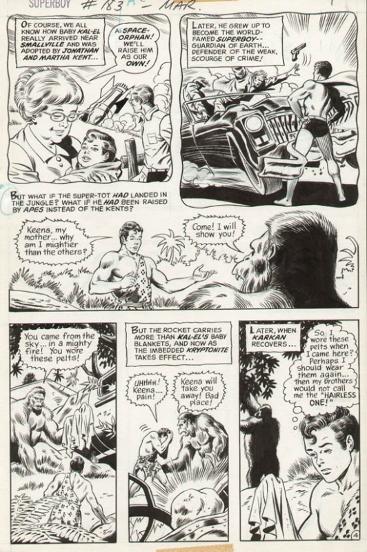 Superboy #183 p 4 (1971)