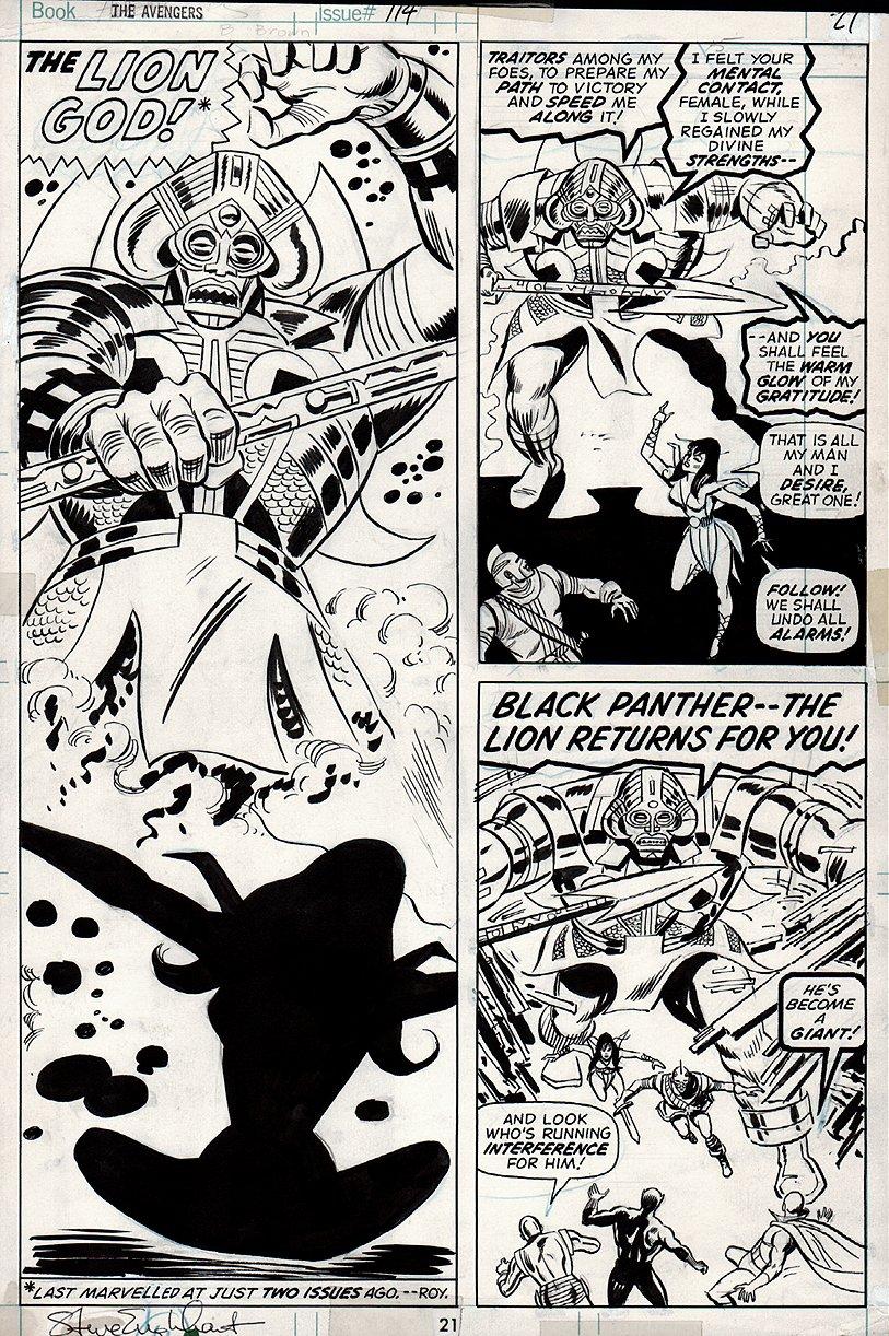 Avengers #114 p 21 (1973)