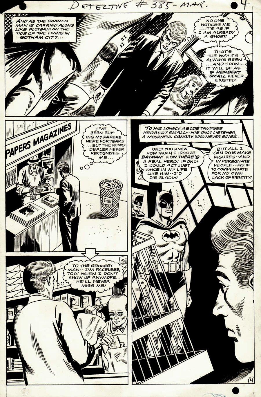 Detective Comics #385 p 4 (1968)
