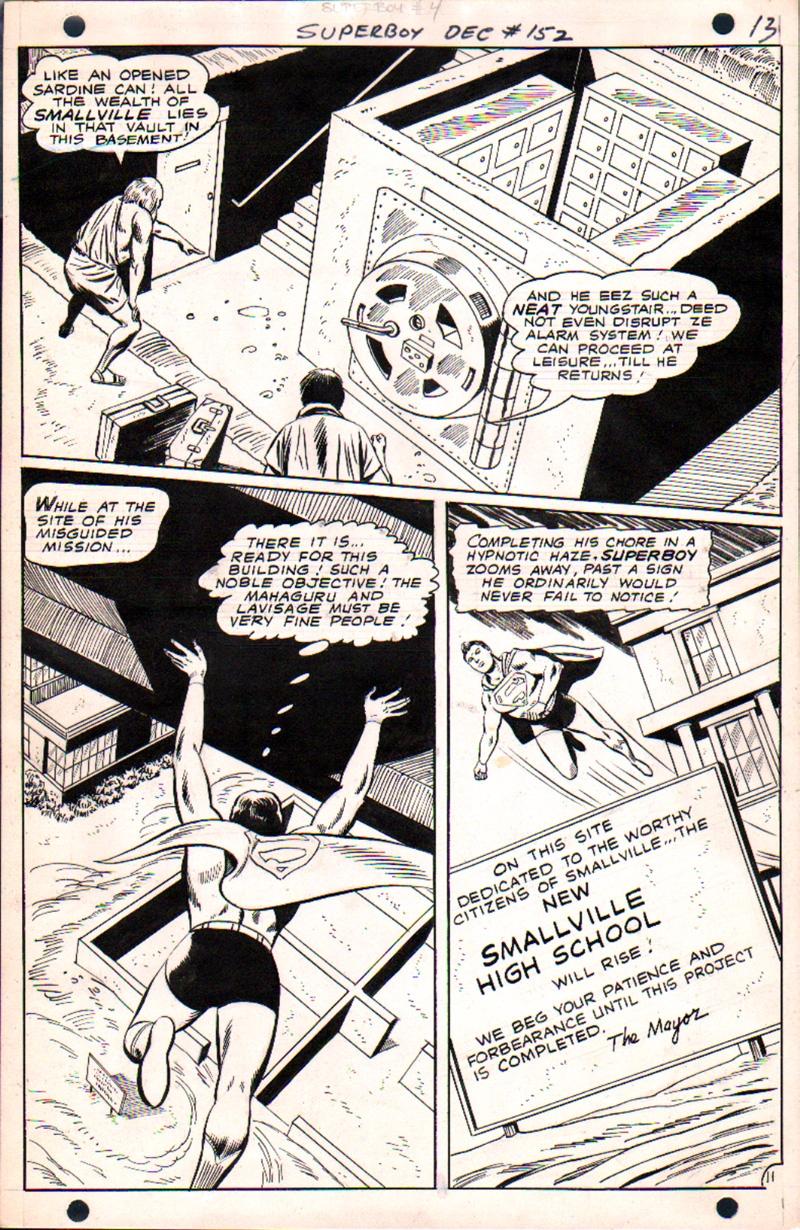 Superboy #152 p 11 (1968)