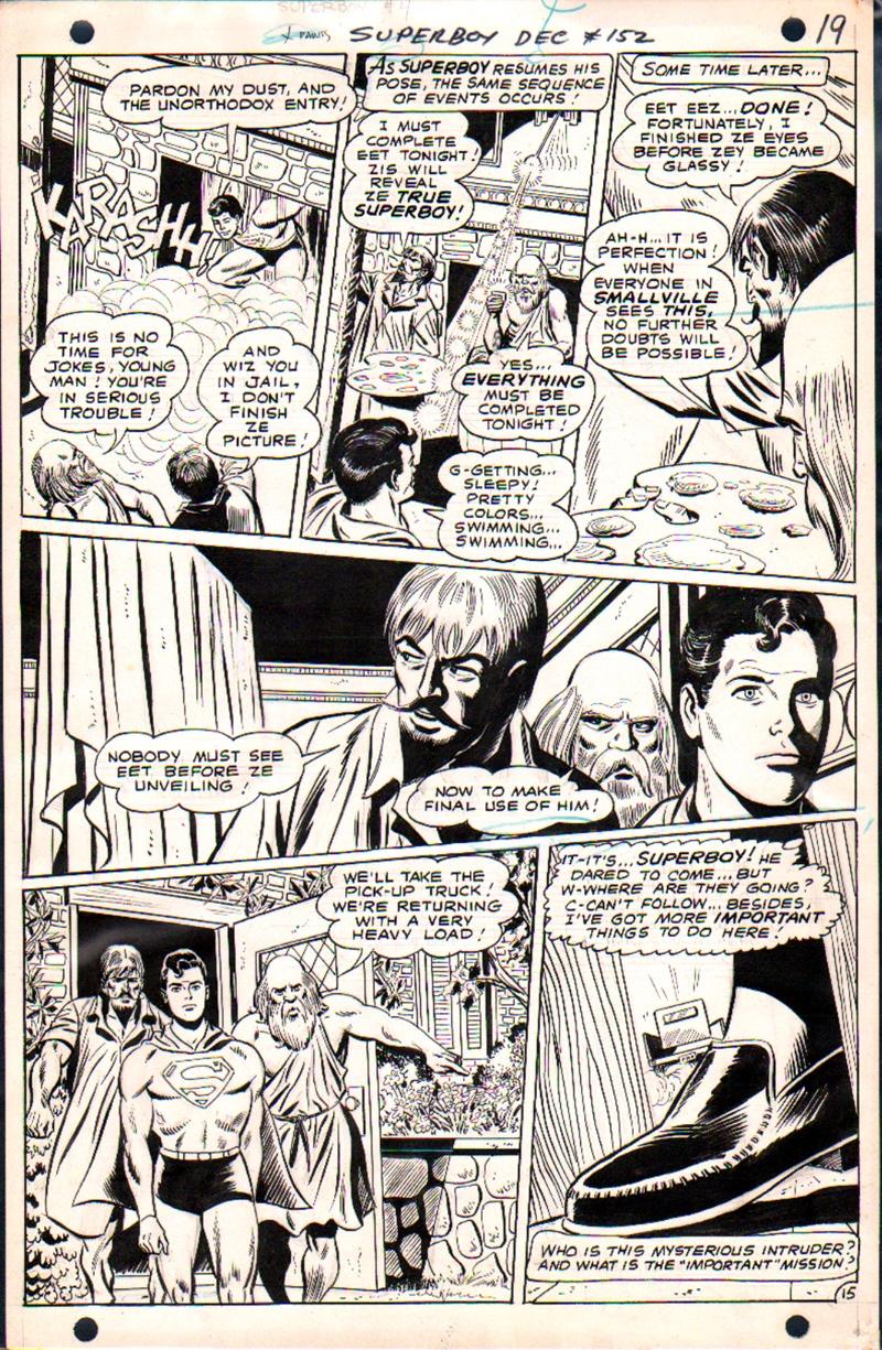 Superboy #152 p 15 (SUPERBOY Throughout!) 1968