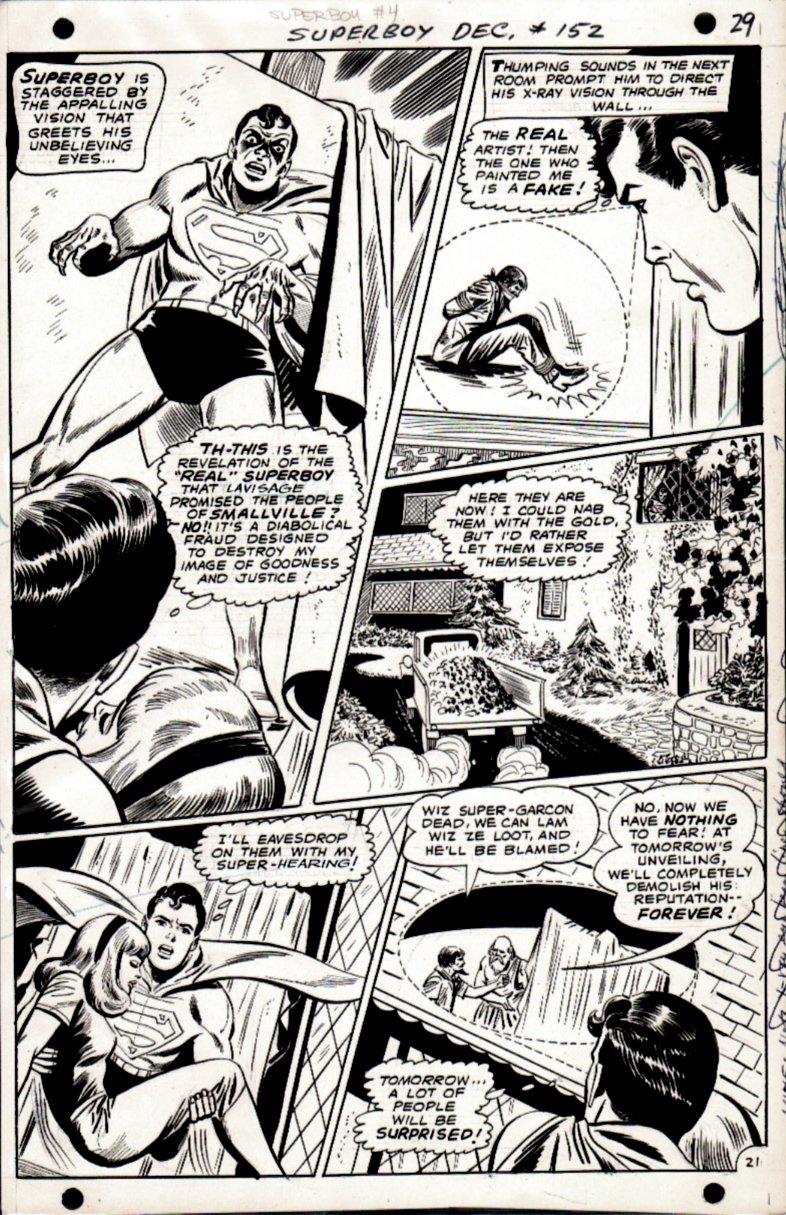Superboy #152 p 21 (Superboy Throughout!) 1968