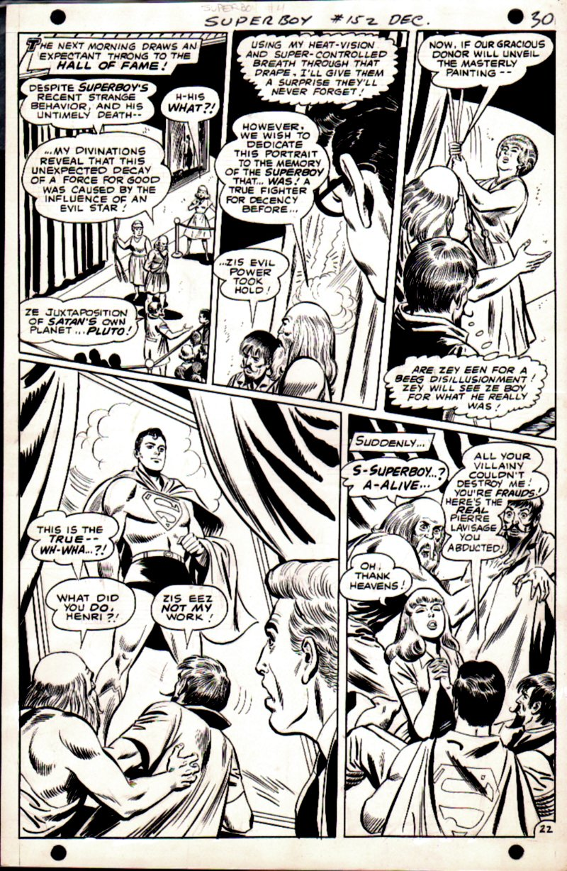 Superboy #152 p 22 (Superboy Cracks The Case!) 1968
