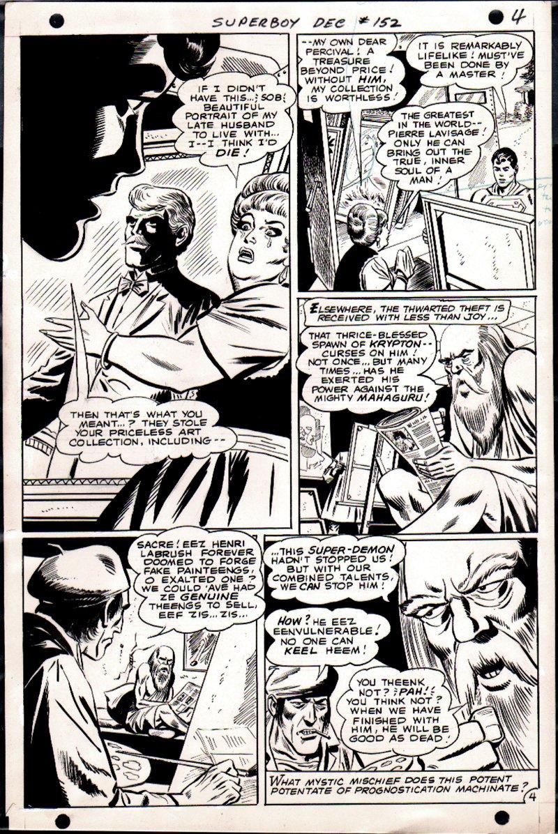 Superboy #152 p 4 (1968)
