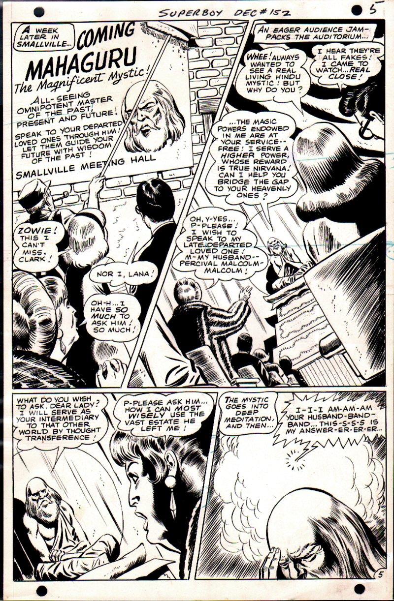 Superboy #152 p 5 (1968)