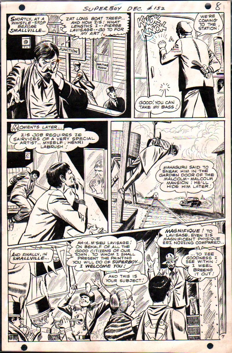 Superboy #152 p 7 (1968)