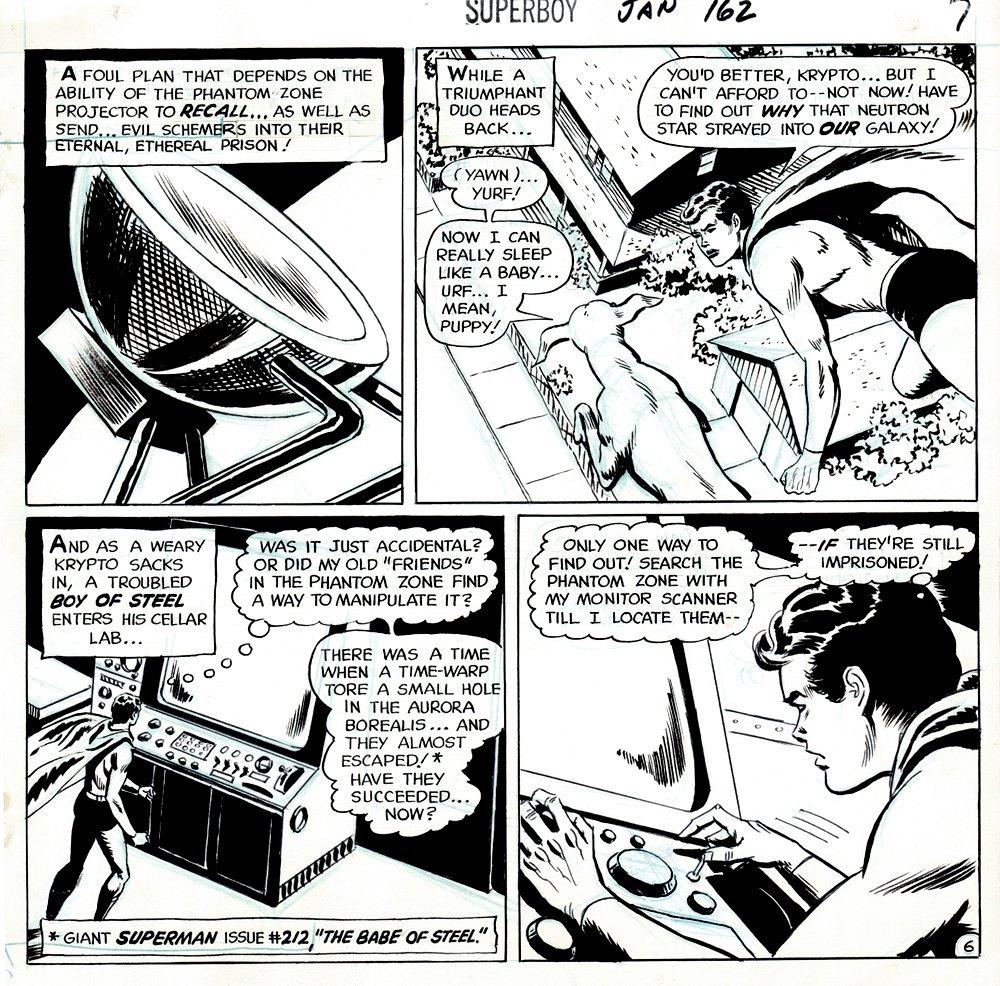 Superboy #162 p 6 (1968)