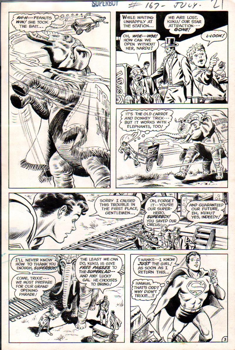 Superboy #167 p 3 (1970)