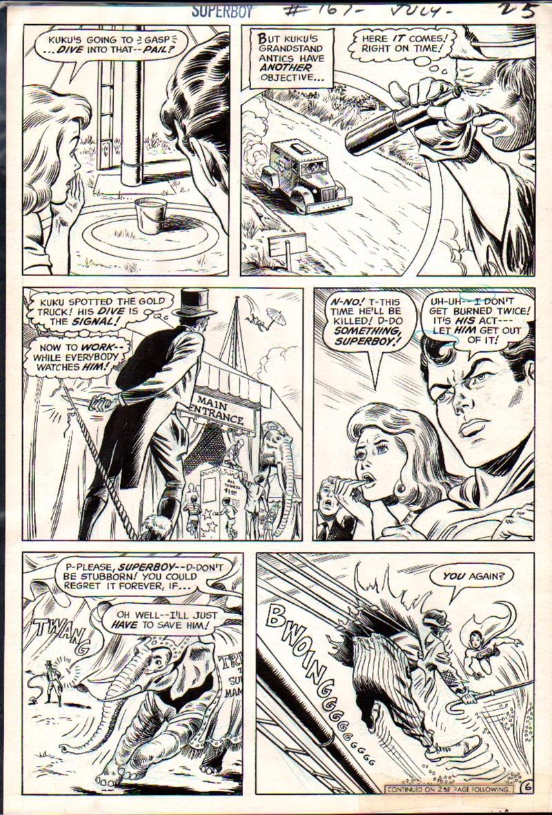Superboy #167 p 6 (1970)