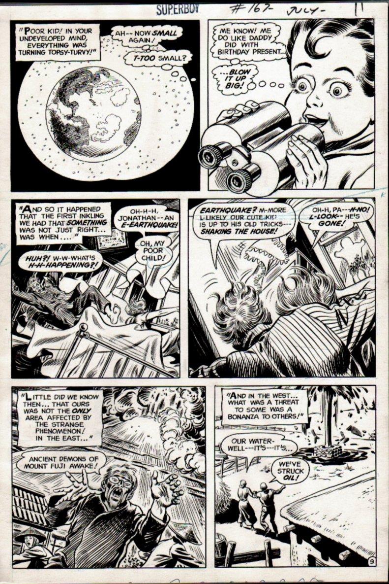 Superboy #167 p 9 (1970)