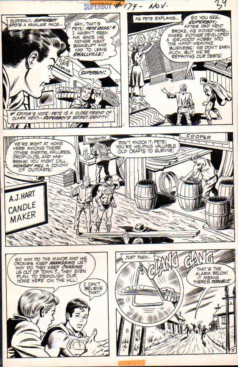 Superboy #179 p 5 (1971)