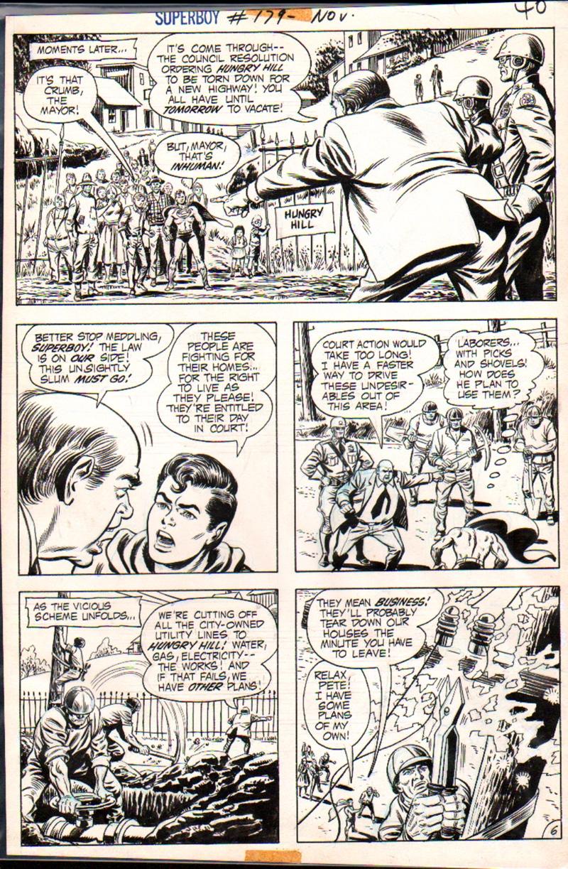 Superboy #179 p 6 (1971)
